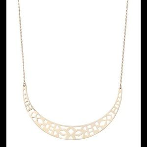 Stella & Dot Avalon Crescent Necklace